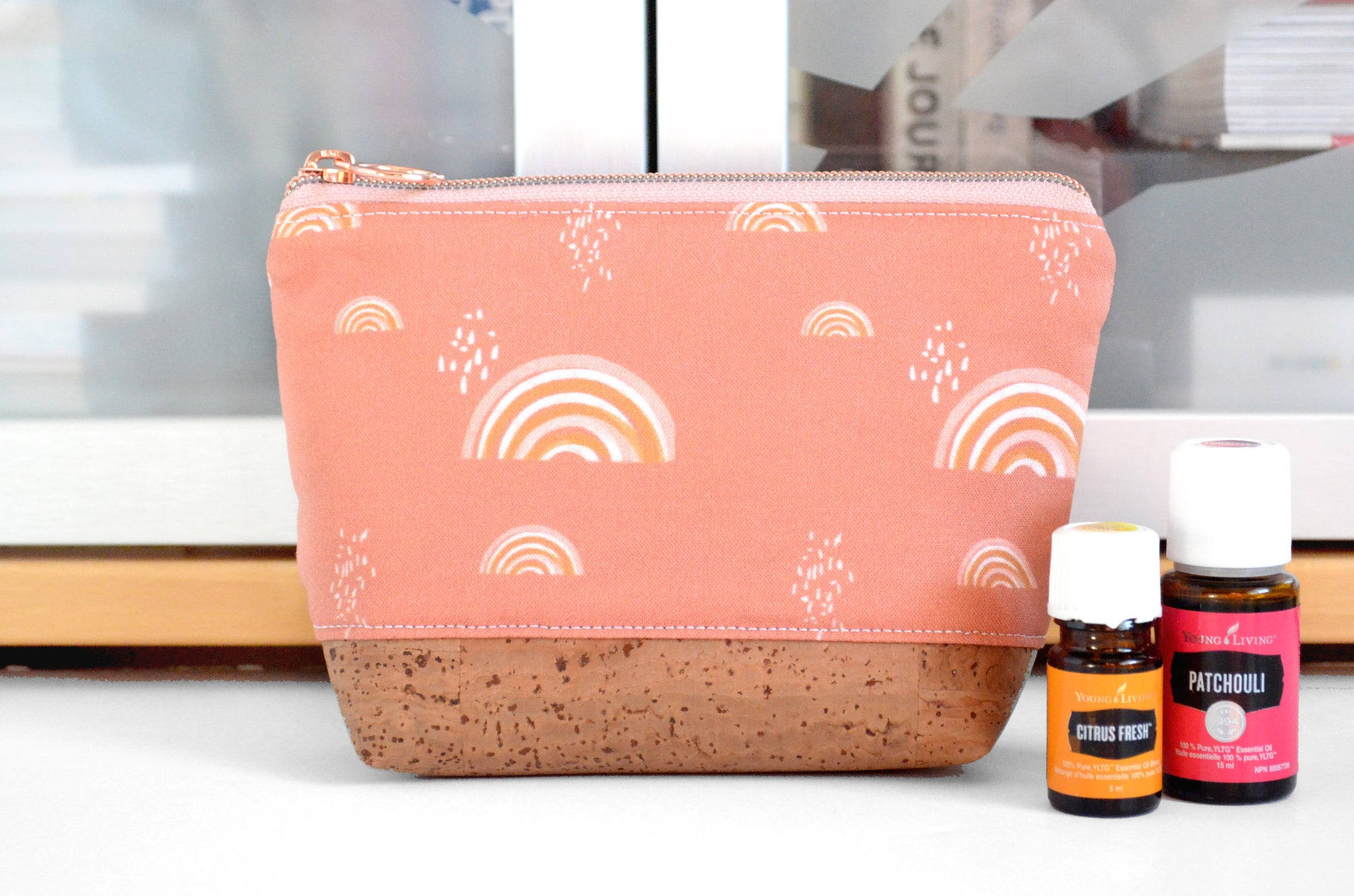 Boho Rainbow Mini Essential Oil Bag