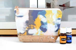 Abstract Watercolour Essential Oil Bag