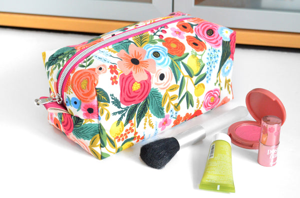 Rifle Paper Co Garden Party Boxy Toiletry Bag