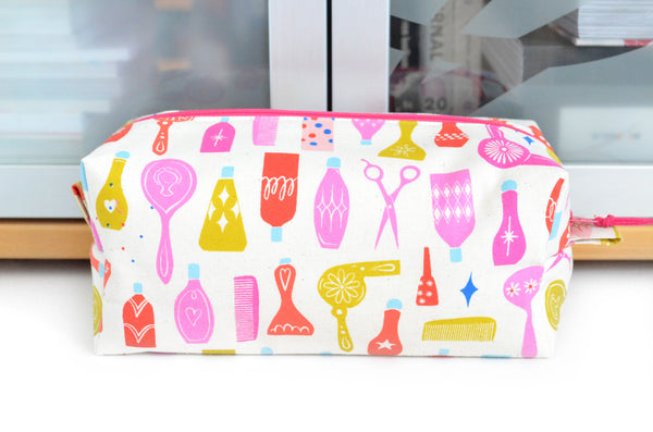 Pink Beauty Parlour Toiletry Bag