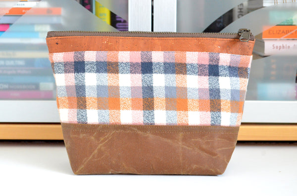 Nutmeg Waxed Canvas Pouch