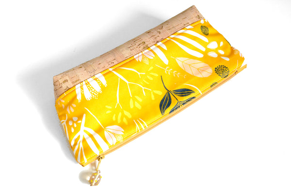 Golden Floral Essential Oil Bag