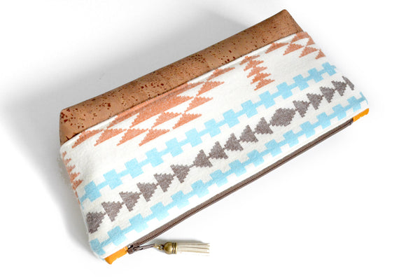 Ivory Taos Flannel Essential Oil Bag