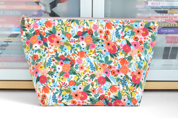 Rifle Paper Co Garden Party Jumbo Toiletry Bag