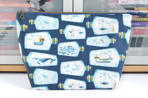Ship in a Bottle Jumbo Toiletry Bag