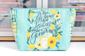 Lemons Jumbo Toiletry Bag