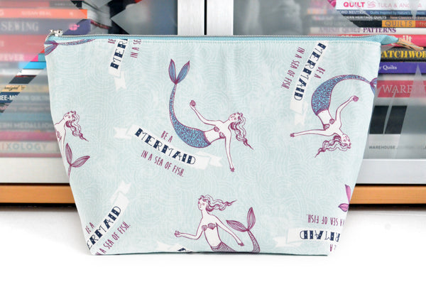 Be a Mermaid Jumbo Toiletry Bag