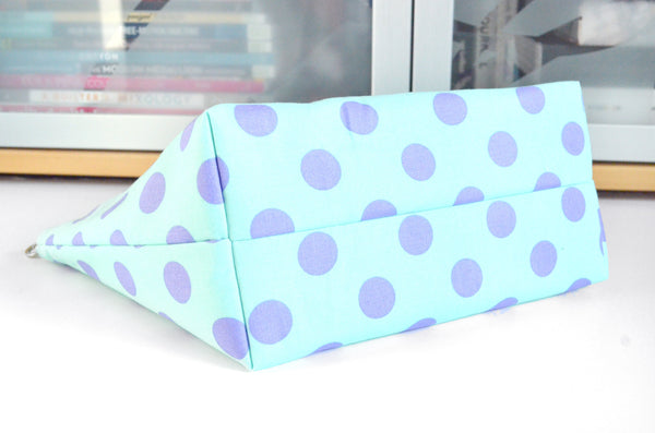 Classic Dots in Blue Jumbo Toiletry Bag