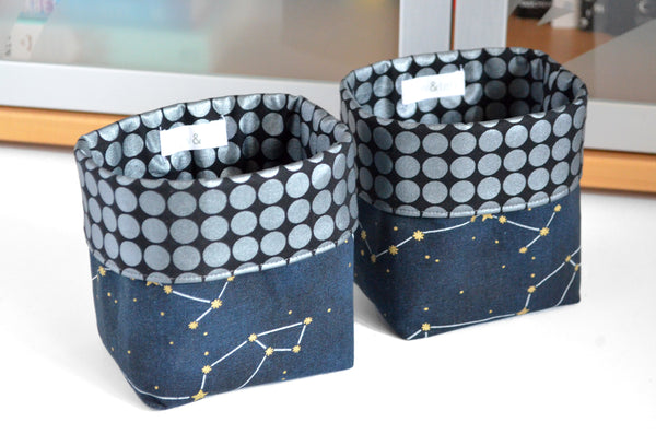 Constellation Fabric Plant Pot