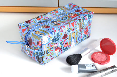 Alice in Wonderland Laminated Toiletry Bag