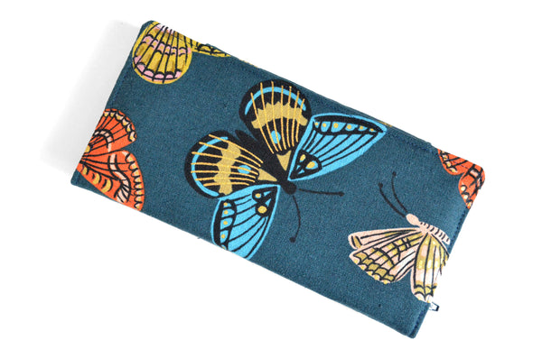 Rifle Paper Co Navy Butterfly Wallet