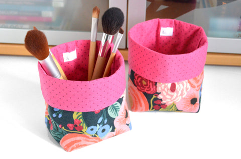 Rifle Paper Co. Juliet Rose Fabric Plant Pot
