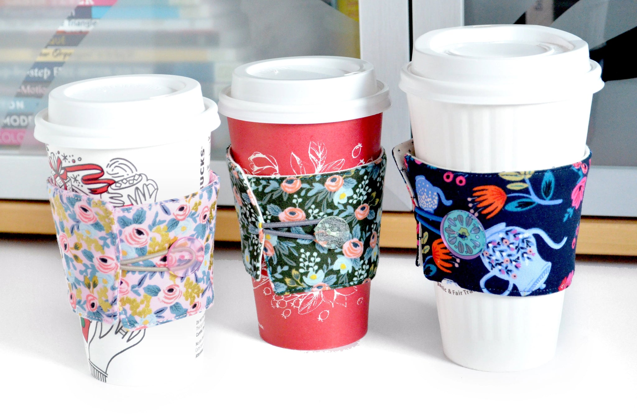 Rifle Paper Co Coffee Sleeve