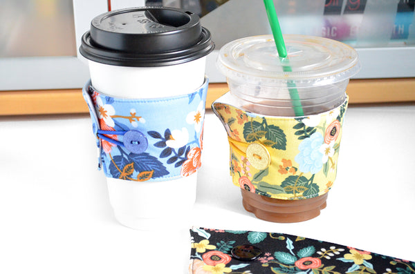 Rifle Paper Co Birch Floral Coffee Sleeve