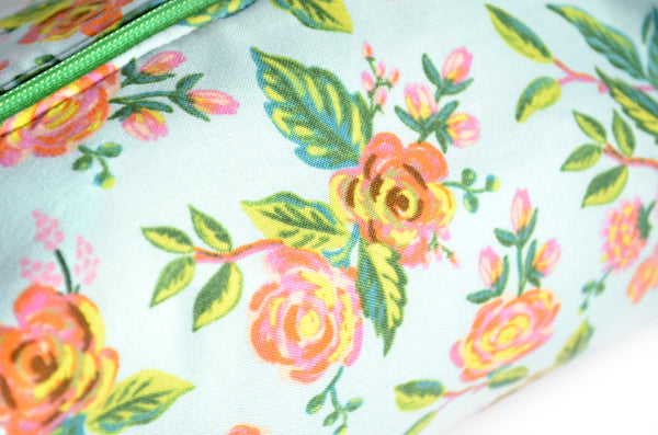 Blue Floral Rifle Paper Co Toiletry Bag
