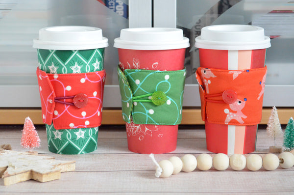 Red & Green Holiday Coffee Sleeve