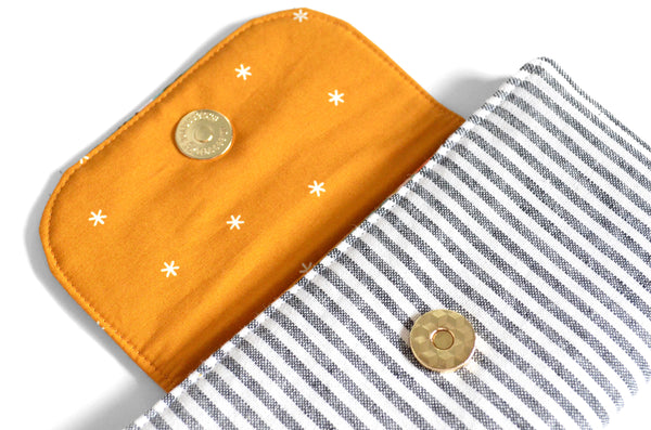 Rifle Paper Co Citrus Stripe Wallet