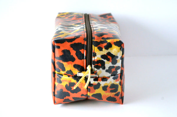Leopard Print Toiletry Bag