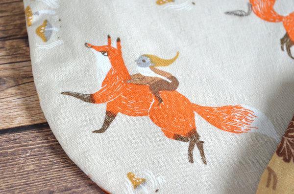 Fox & Cuckoo Clock Coin Purse