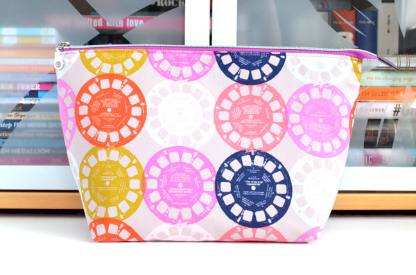 Pink Viewfinder Jumbo Toiletry Bag