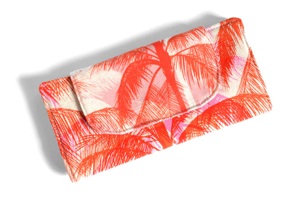 Red Palm Tree Wallet
