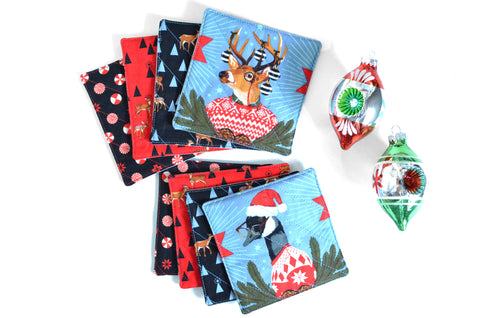 Whimsical Animal Drink Coasters