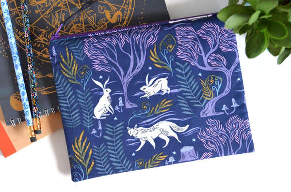 Large Pouch - Enchanted Animals