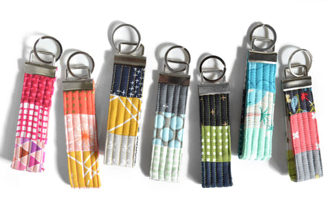 Assorted Patchwork Keychain