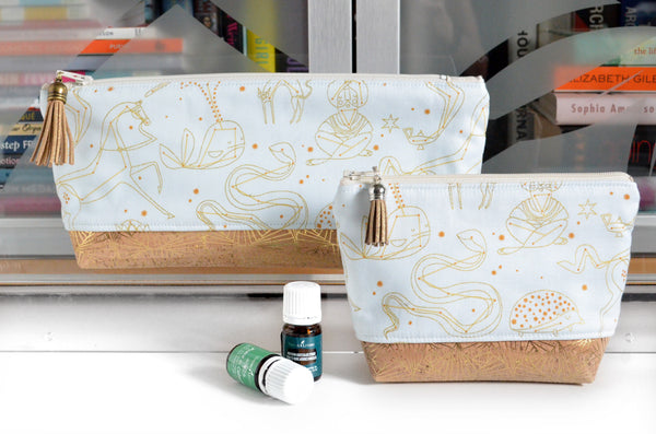 Gold Constellation Essential Oil Bag