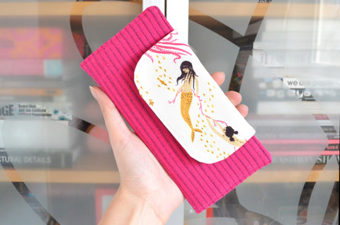Pink Mermaid Wallet