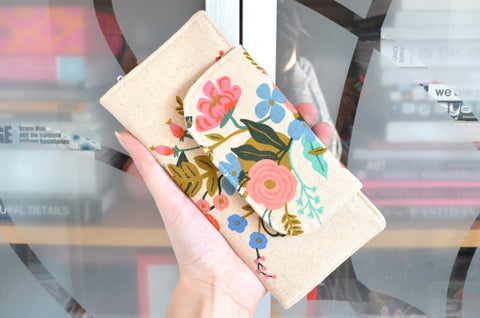 Rifle Paper Co Floral Vine Wallet