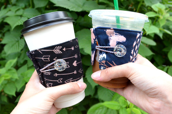 Rose Gold Coffee Sleeve