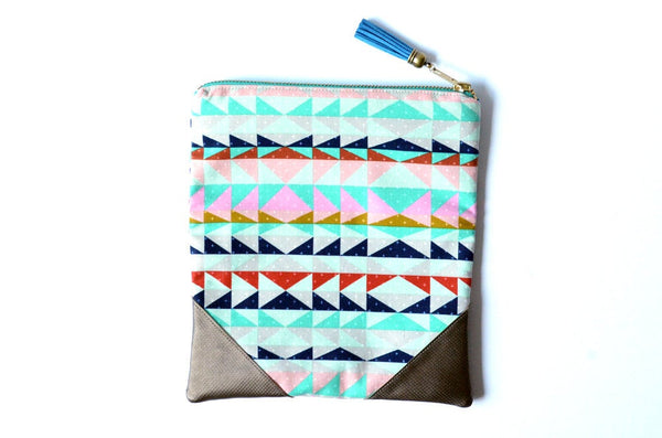Blue Mesa Fold Over Clutch