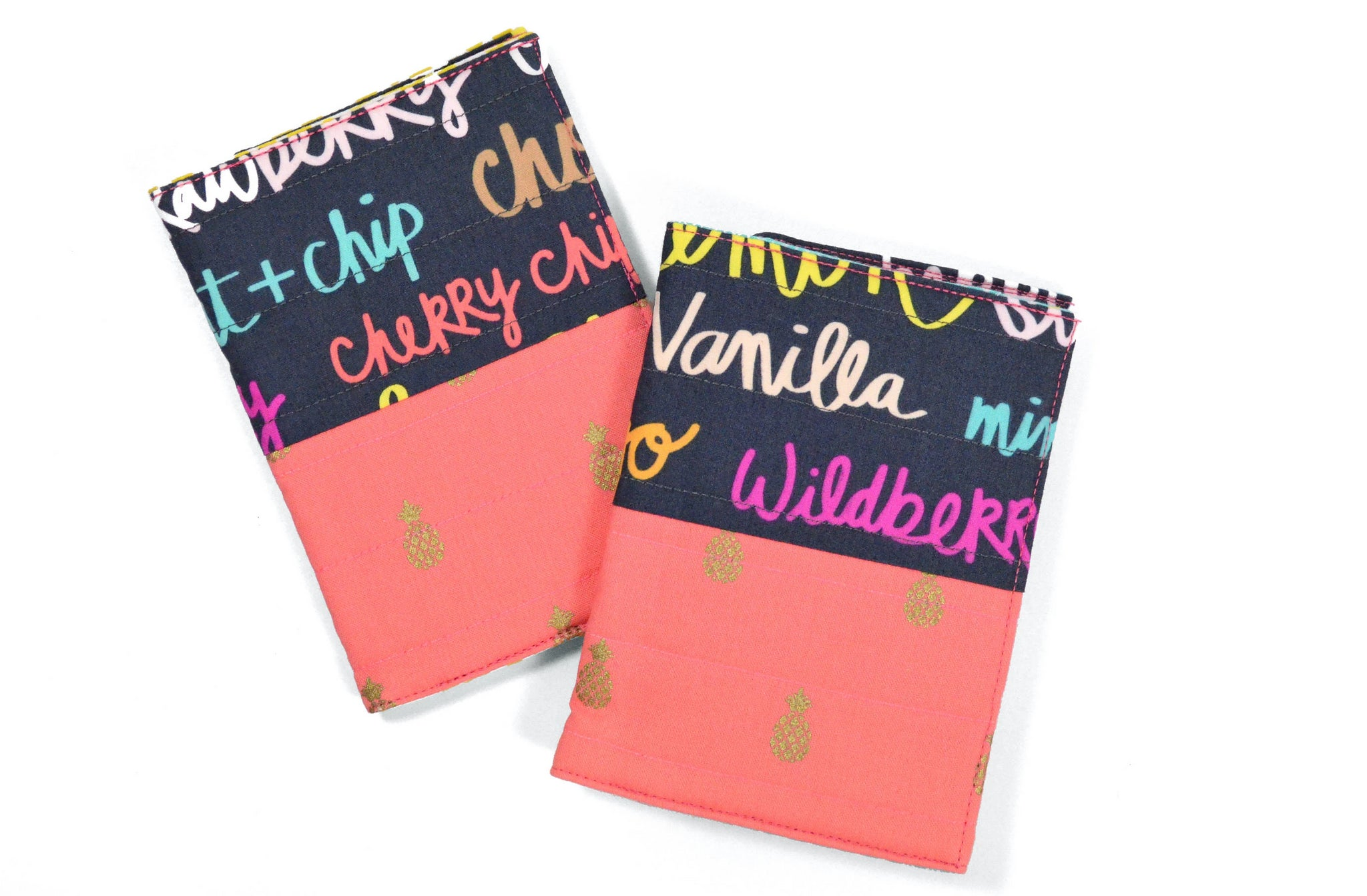 Pink Pineapple Ice-Cream Passport Cover