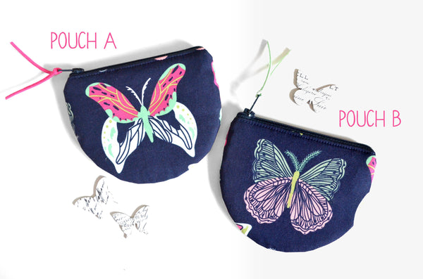 Butterfly Round Coin Purse