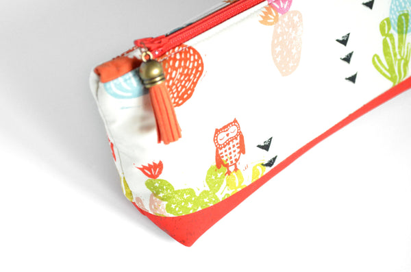 Red Owl Essential Oil Bag