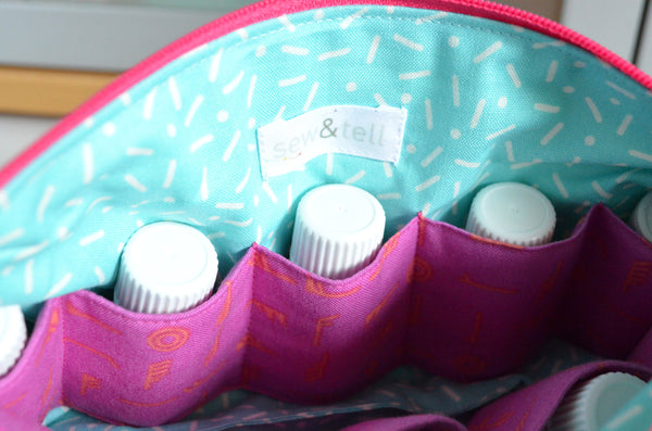 Rainbow Butterfly Essential Oil Bag