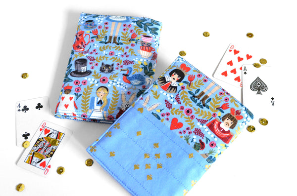 Alice in Wonderland Passport Cover