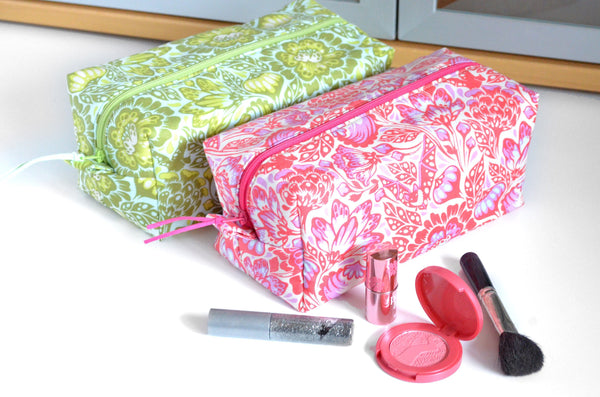 Tula Pink Floral Toiletry Bag