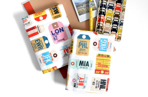 Travel Tags Passport Cover