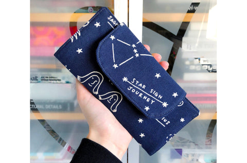 Blue Constellations Wallet