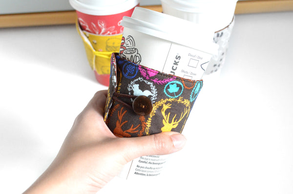 Woodland Coffee Sleeve