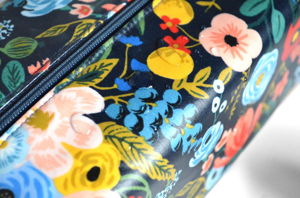 Black Rifle Floral Toiletry Bag
