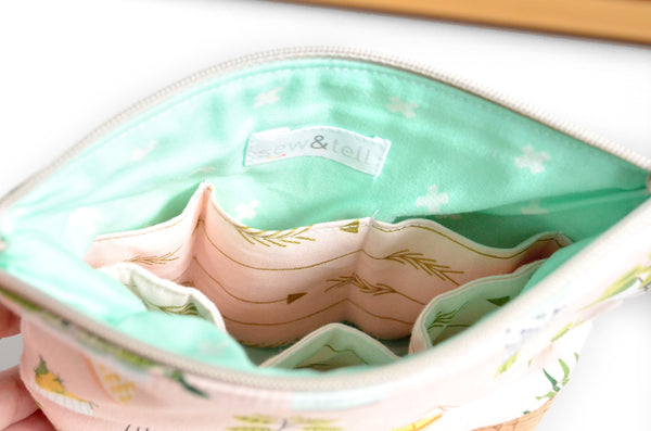 Light Pink Essential Oil Bags