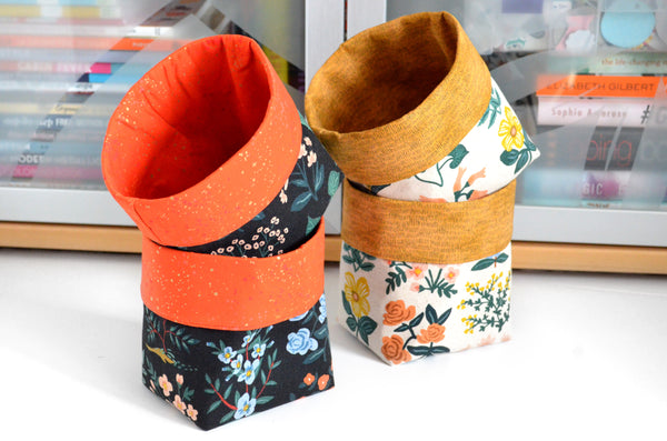 Rifle Paper Co. Wildflower Fabric Plant Pot