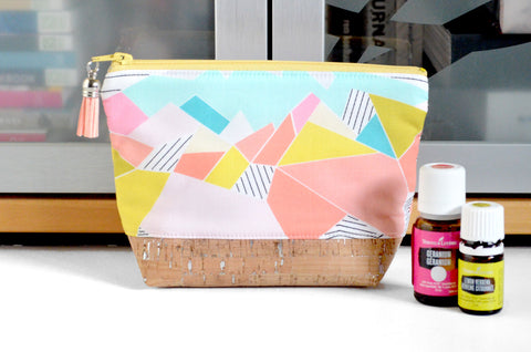 Mini Abstract Mountain Essential Oil Bag