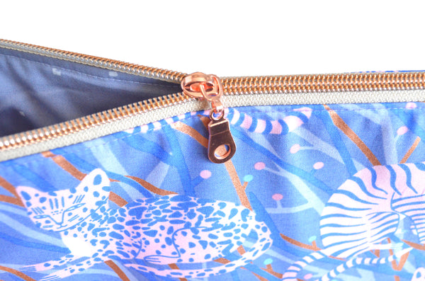 Airflow Rose Gold Cats Jumbo Toiletry Bag