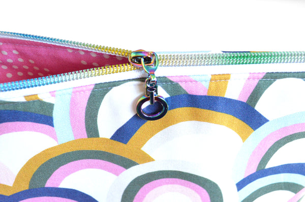 Rainbow Jumbo Toiletry Bag
