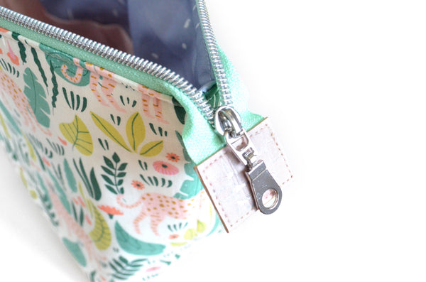 Ethereal Jungle Jumbo Toiletry Bag