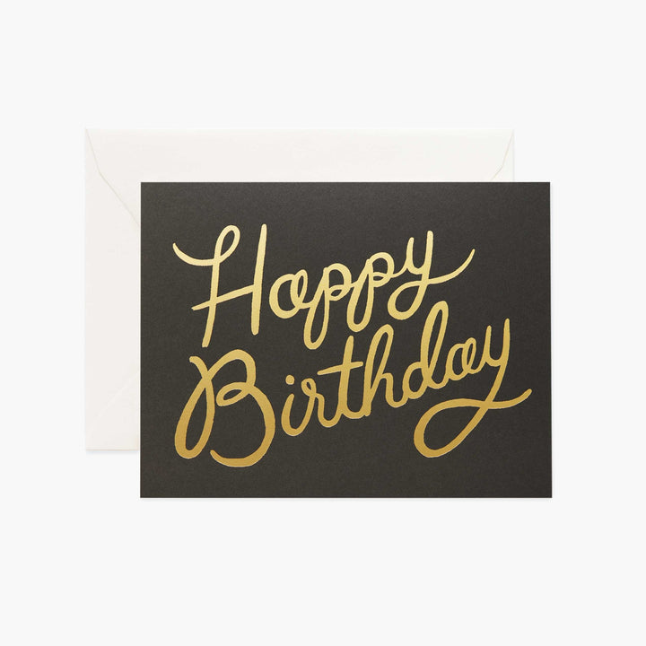 Card: Shimmering Birthday